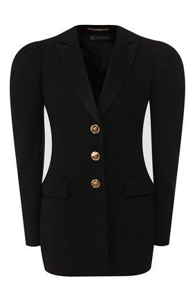 Женский жакет VERSACE черного цвета, арт. A85356/A212457 | Фото 1