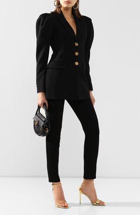 Женский жакет VERSACE черного цвета, арт. A85356/A212457 | Фото 2