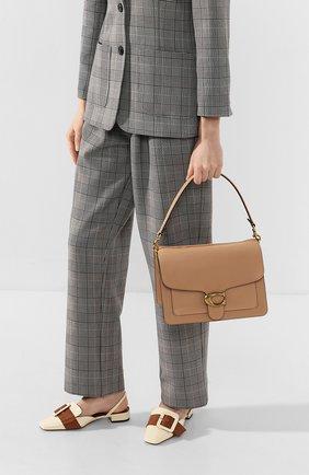 Женская сумка tabby COACH бежевого цвета, арт. 73723 | Фото 2