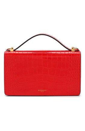 Женская сумка gv3 GIVENCHY красного цвета, арт. BB607KB0LK | Фото 1