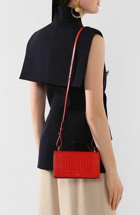 Женская сумка gv3 GIVENCHY красного цвета, арт. BB607KB0LK | Фото 2
