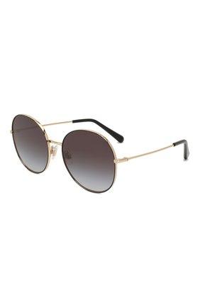 Мужские солнцезащитные очки DOLCE & GABBANA черного цвета, арт. 2243-13348G | Фото 1