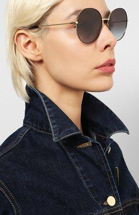 Мужские солнцезащитные очки DOLCE & GABBANA черного цвета, арт. 2243-13348G | Фото 2