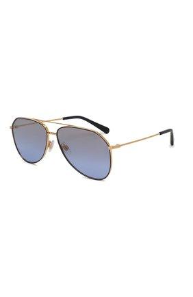 Мужские солнцезащитные очки DOLCE & GABBANA синего цвета, арт. 2244-133733 | Фото 1