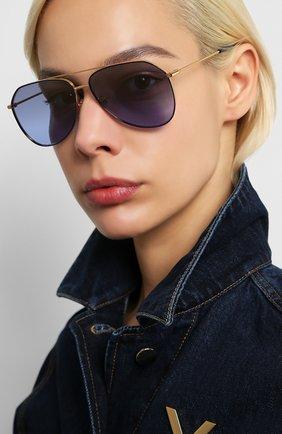 Мужские солнцезащитные очки DOLCE & GABBANA синего цвета, арт. 2244-133733 | Фото 2