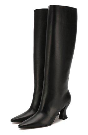 Женские кожаные сапоги BOTTEGA VENETA черного цвета, арт. 608843/VBSL0 | Фото 1