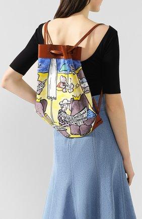 Женский рюкзак LANVIN разноцветного цвета, арт. LW-BGFA01-PLNA-P20 | Фото 2