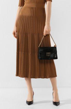 Женская сумка gv3 small  GIVENCHY черного цвета, арт. BB501CB0SS | Фото 2