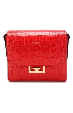 Женская сумка eden small GIVENCHY красного цвета, арт. BB50B1B0LK | Фото 1