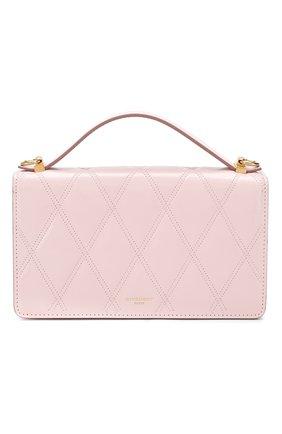 Женская сумка gv3  GIVENCHY розового цвета, арт. BB607KB08Z | Фото 1