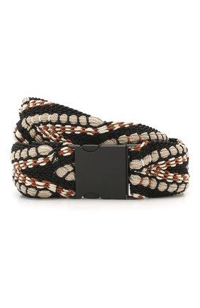 Женский текстильный ремень DOROTHEE SCHUMACHER черного цвета, арт. 750802/W0VEN STRETCH | Фото 1
