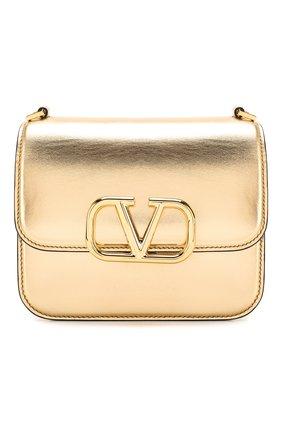 Женская сумка valentino garavani vsling small VALENTINO золотого цвета, арт. TW0B0F01/JEQ | Фото 1
