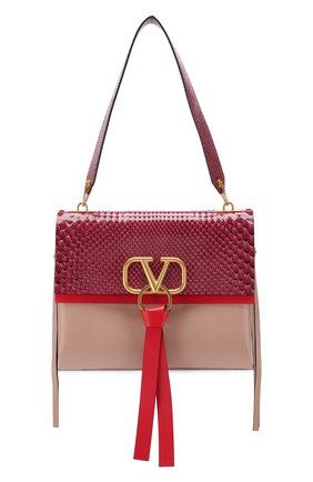 Женская сумка valentino garavani vring medium VALENTINO бордового цвета, арт. TW2B0E02/JJD/PBIV | Фото 1