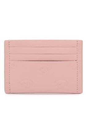 Женский кожаный футляр для кредитных карт KENZO светло-розового цвета, арт. FA52PM700L11 | Фото 1