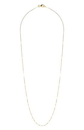 Женское серебряная цепь BOTTEGA VENETA золотого цвета, арт. 622036/VAHU0/50 | Фото 1