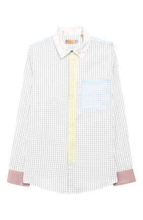 Детское рубашка MUMOFSIX разноцветного цвета, арт. MOS20STP_25 | Фото 1