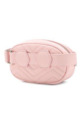 Детская поясная сумка PHILIPP PLEIN розового цвета, арт. S20A GBA0149 PTE003N | Фото 2