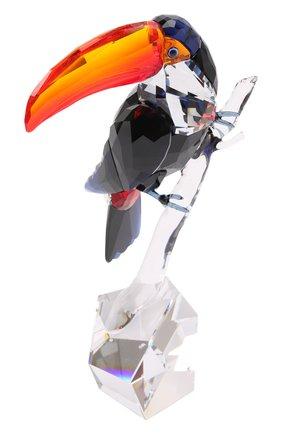 Мужского скульптура toucan SWAROVSKI разноцветного цвета, арт. 5493725   Фото 1