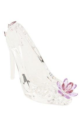 Мужского скульптура shoe with flower SWAROVSKI прозрачного цвета, арт. 5493712   Фото 1