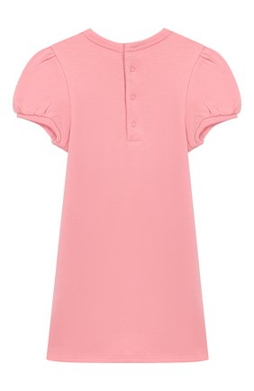 Женский хлопковое платье MARC JACOBS (THE) розового цвета, арт. W02138 | Фото 2