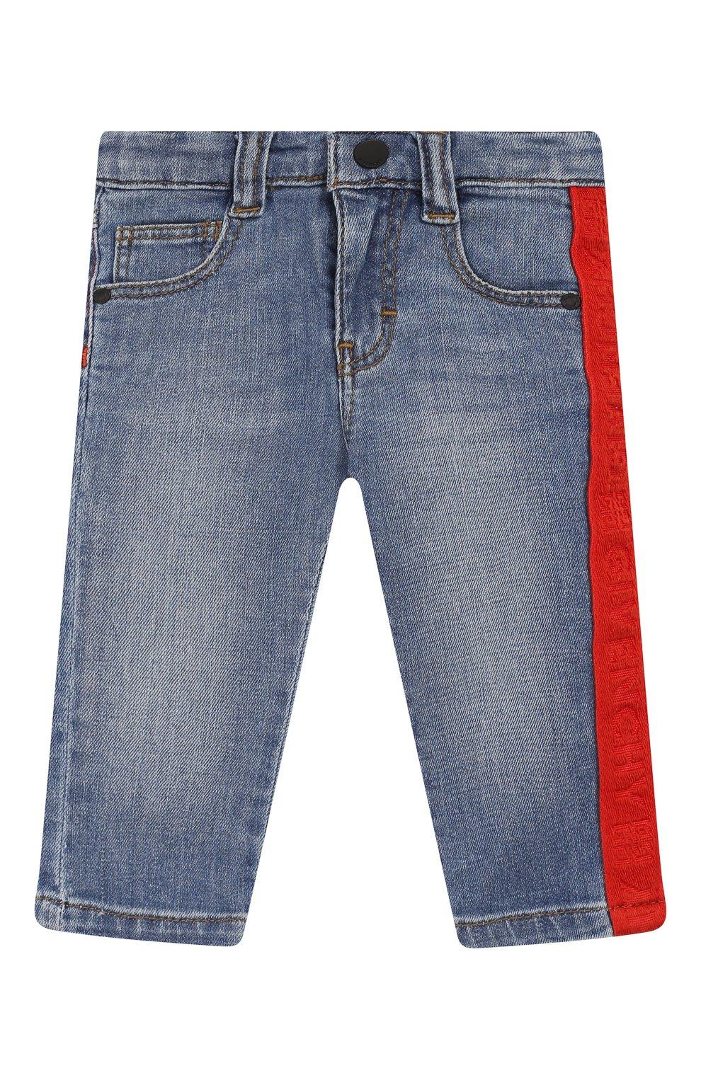Детские джинсы GIVENCHY синего цвета, арт. H04068   Фото 1