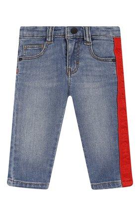 Детские джинсы GIVENCHY синего цвета, арт. H04068 | Фото 1