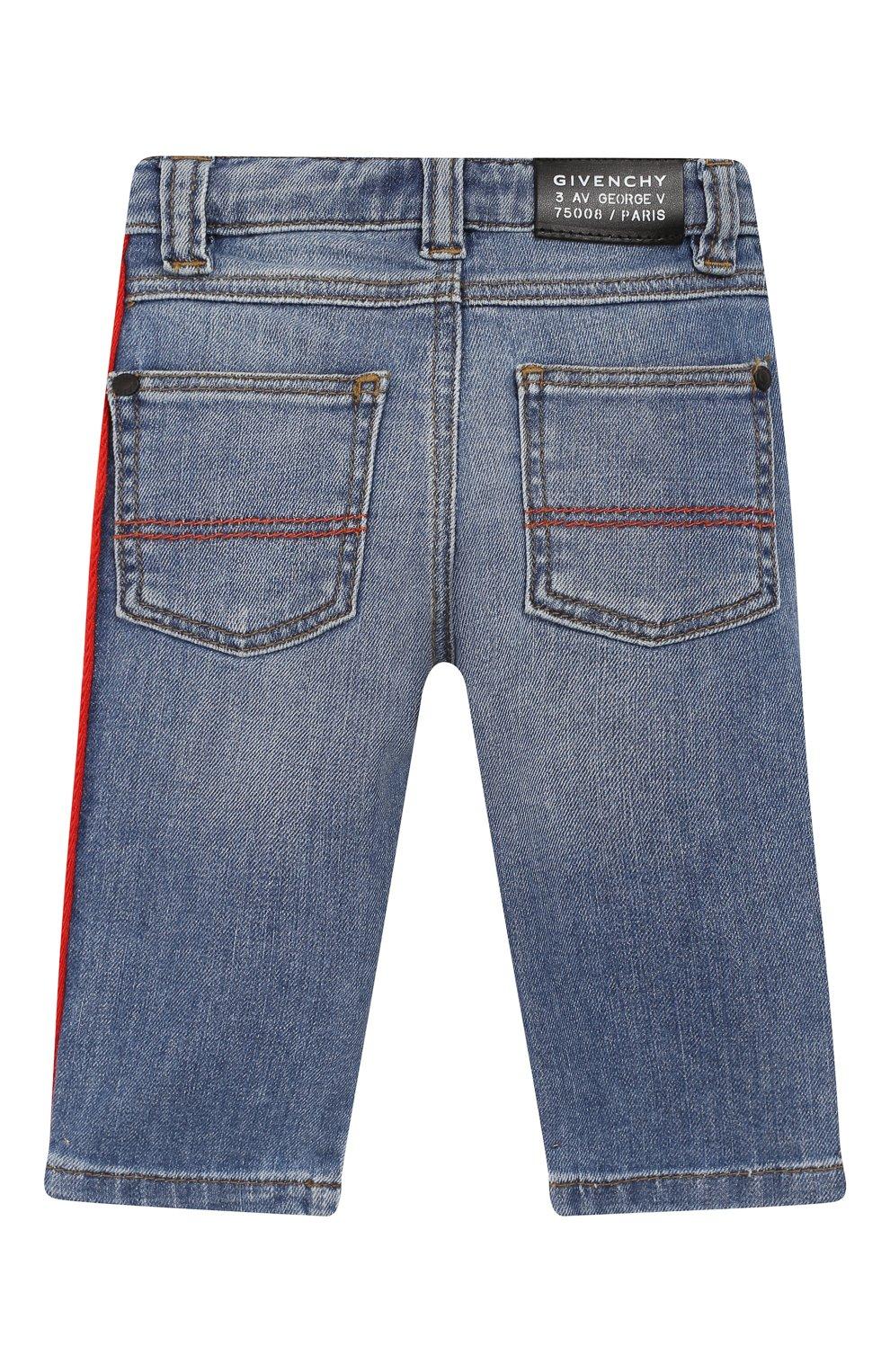 Детские джинсы GIVENCHY синего цвета, арт. H04068   Фото 2