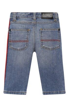 Детские джинсы GIVENCHY синего цвета, арт. H04068 | Фото 2