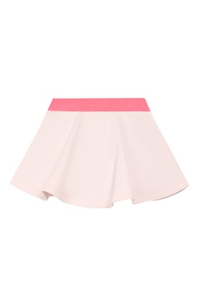 Детская хлопковая юбка KENZO розового цвета, арт. KQ27007 | Фото 2