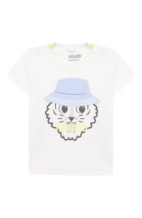 Детский комплект из футболки и шорт KENZO разноцветного цвета, арт. KQ99503 | Фото 2