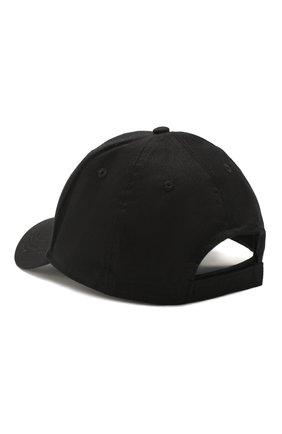 Детская бейсболка KENZO черного цвета, арт. KQ90538 | Фото 2