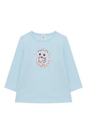 Детский хлопковая пижама SANETTA разноцветного цвета, арт. 221530 5632 | Фото 2