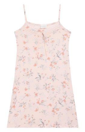 Детская сорочка LA PERLA розового цвета, арт. 71083/2A-6A | Фото 1