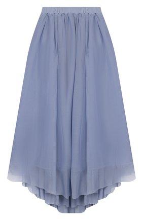 Детская юбка TWINSET синего цвета, арт. 201GJ2QA2/6A-10A | Фото 1