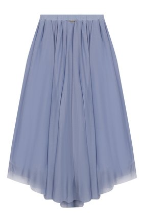 Детская юбка TWINSET синего цвета, арт. 201GJ2QA2/6A-10A | Фото 2
