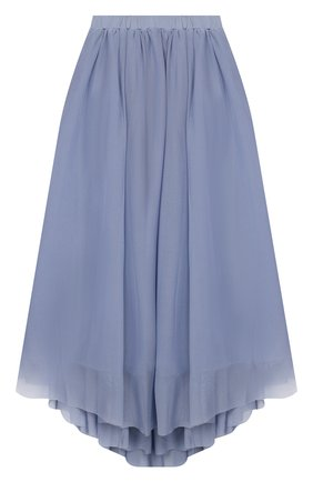 Детская юбка TWINSET синего цвета, арт. 201GJ2QA2/12A-16A | Фото 1