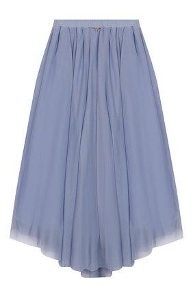 Детская юбка TWINSET синего цвета, арт. 201GJ2QA2/12A-16A | Фото 2