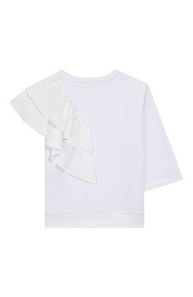 Детский хлопковый свитшот DONDUP белого цвета, арт. YF055/FY0011/ZA24 | Фото 2