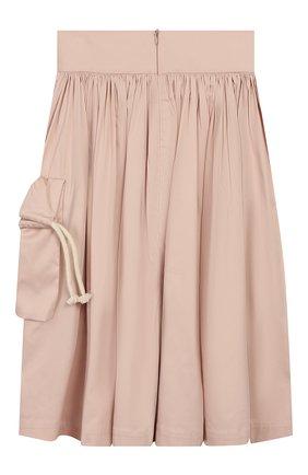 Детская хлопковая юбка UNLABEL светло-розового цвета, арт. MAGN0LIA-3/12-IN002/12A-16A | Фото 2