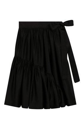 Детская юбка UNLABEL черного цвета, арт. LILAC-2/03-IN001-B/12A-16A | Фото 1