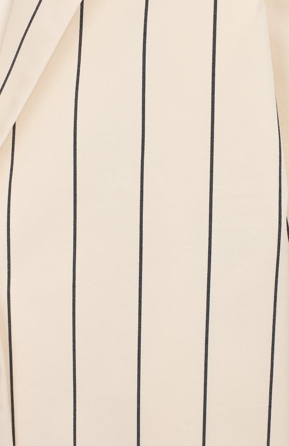 Детский хлопковый жакет UNLABEL бежевого цвета, арт. IVY-1/56-IN06/12A-16A   Фото 3 (Девочки Кросс-КТ: Жакет-одежда; Рукава: Длинные; Материал внешний: Синтетический материал, Хлопок; Материал подклада: Хлопок; Ростовка одежда: 12 лет   152 см, 16 лет   164 см)