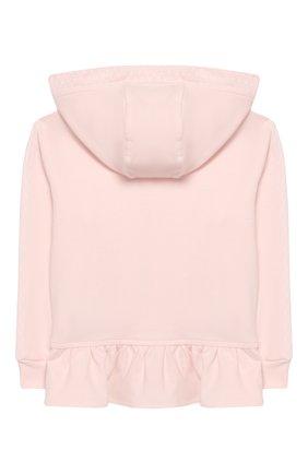 Детский комплект из толстовки и брюк ALETTA розового цвета, арт. RB00127/1M-2A | Фото 3