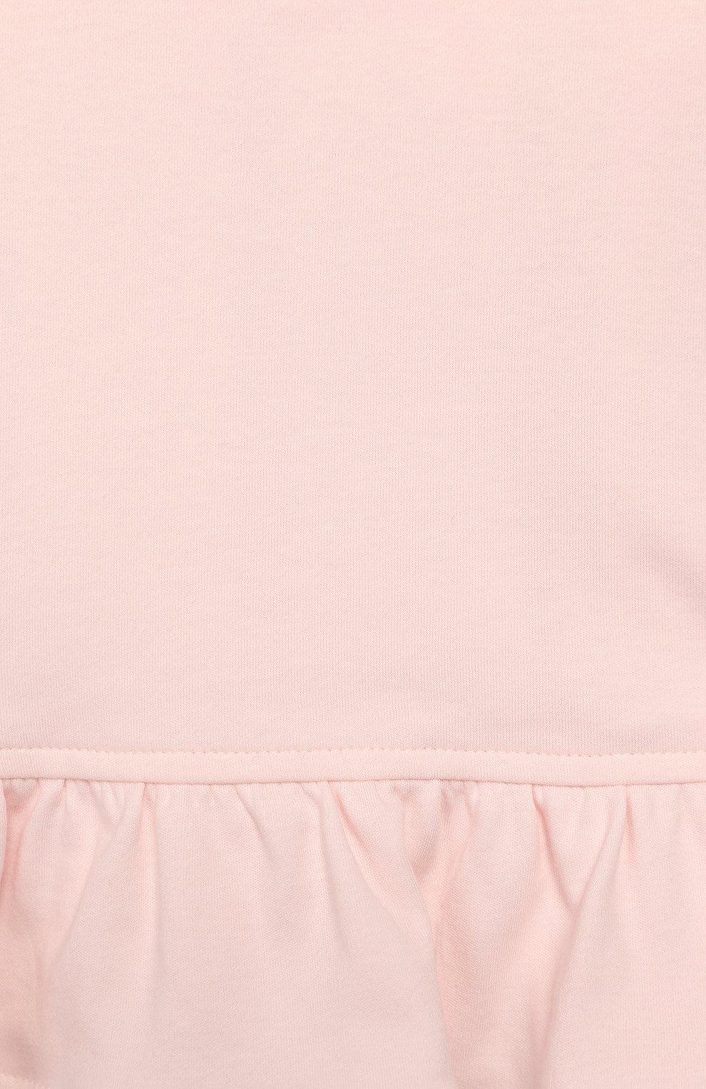 Детский комплект из толстовки и брюк ALETTA розового цвета, арт. RB00127/1M-2A | Фото 4