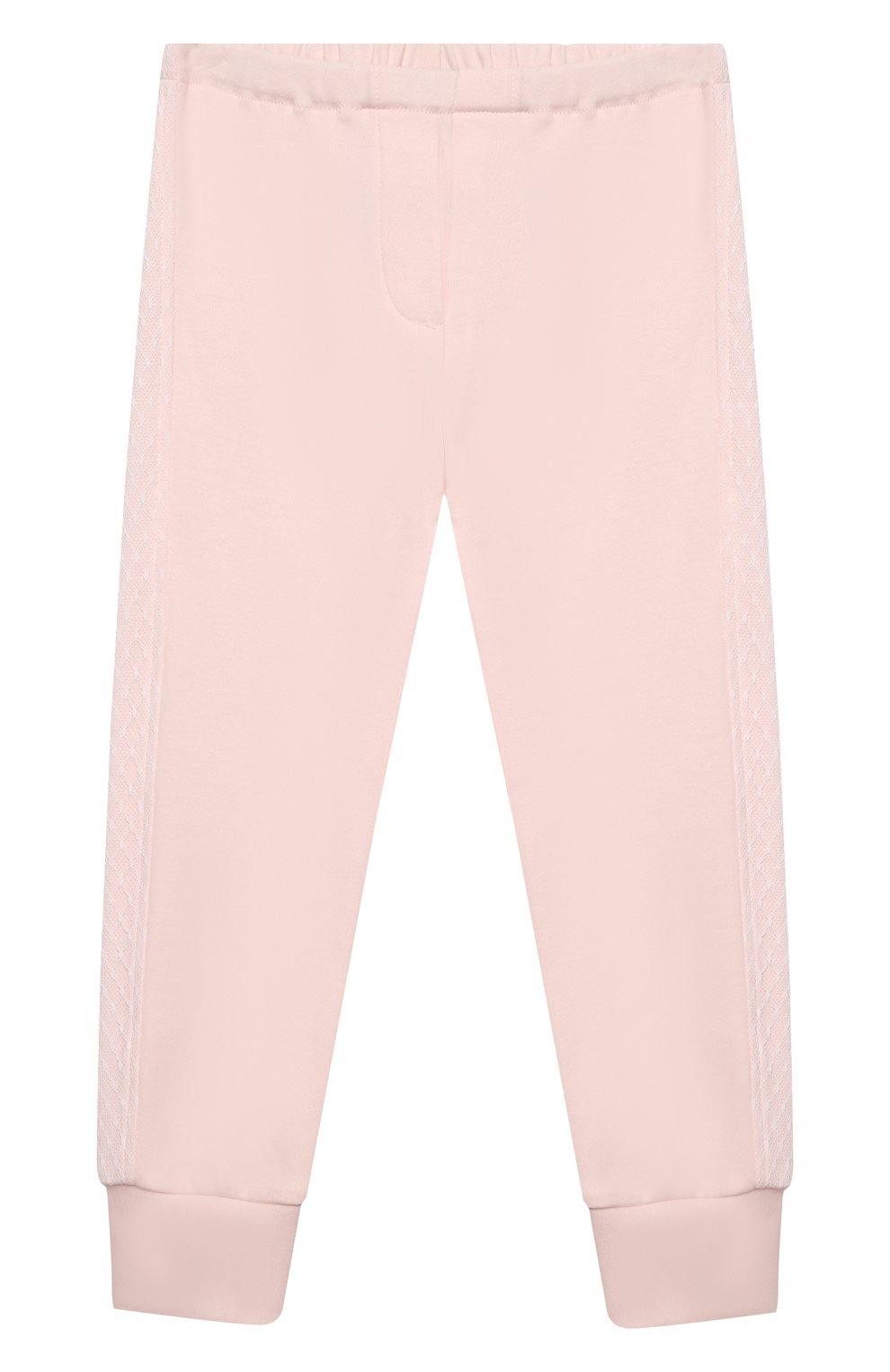 Детский комплект из толстовки и брюк ALETTA розового цвета, арт. RB00127/1M-2A | Фото 5