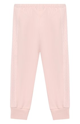 Детский комплект из толстовки и брюк ALETTA розового цвета, арт. RB00127/1M-2A | Фото 6