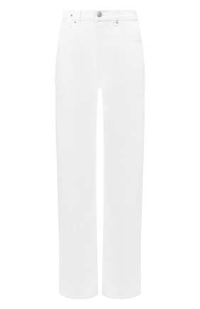 Женские джинсы DRIES VAN NOTEN белого цвета, арт. 201-12414-9395 | Фото 1
