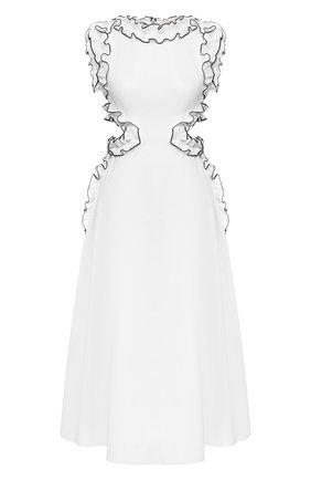 Женское хлопковое платье CHRISTOPHER KANE белого цвета, арт. RE20 DR3319 TAIL0RED C0TT0N | Фото 1