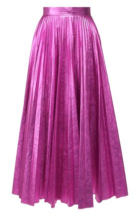 Женская юбка-миди CHRISTOPHER KANE фуксия цвета, арт. RE20 SK1251 LAMINATED NYL0N | Фото 1