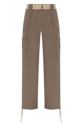 Женские брюки RAG&BONE хаки цвета, арт. WAW19H7003N303   Фото 1