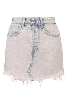 Женская джинсовая юбка DENIM X ALEXANDER WANG розового цвета, арт. 4DC1205621 | Фото 1
